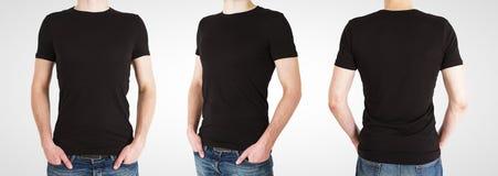 Гомосексуалист 3 в черной футболке стоковые изображения
