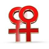 Гомосексуалист; лесбиянка; влюбленность; женщины; женский; гомосексуальный; датировать; символ; диамант; пары; секс; символ секса; Стоковое Изображение RF