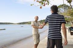 гомосексуалист пар вручает удерживание Стоковое Изображение RF