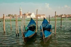 Гондола в Венеция Стоковое Изображение RF