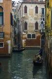 Гондолы Венеции Италии Стоковое фото RF