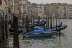 Гондолы Венеции Италии Стоковое Изображение