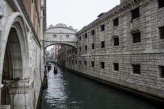 Гондолы Венеции Италии Стоковые Изображения