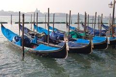 Гондолы, Венеция, Италия. Стоковые Изображения RF