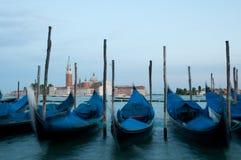 Гондолы в Венеция Стоковая Фотография