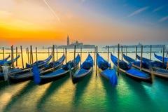гондолы Италия venice Стоковое Изображение RF