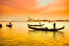 гондолы Италия venice Стоковые Фото