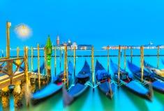 гондолы Италия venice Стоковое Фото