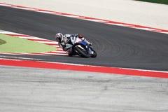 Гонка 1 †чемпионата мира Superbike FIM « Стоковое Изображение
