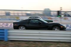 гонка автомобилей Стоковое фото RF