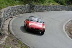 гонка автомобиля историческая Стоковая Фотография