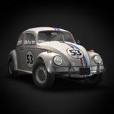 гонка автомобиля старая Стоковые Фото