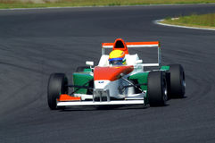 гонка автомобиля Стоковая Фотография