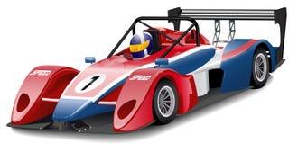 гонка автомобиля Стоковое фото RF