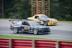 гонка автомобиля e36 bmw Стоковое Изображение RF