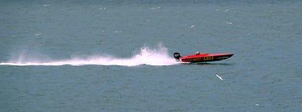 Гонка быстроходного катера Стоковое Изображение