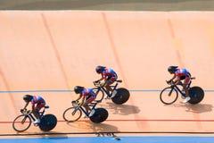 гонка велосипеда Стоковое Изображение RF
