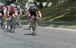 гонка велосипеда Стоковая Фотография