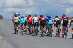 гонка велосипеда Стоковая Фотография RF