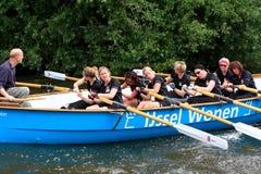 Гонка весельной лодки регаты, Нидерланды Стоковые Фото