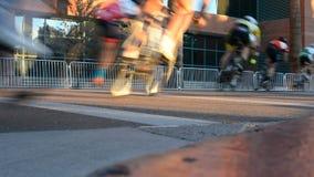 Гонка велосипеда сток-видео