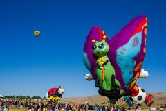 Гонка воздушного шара Reno стоковые изображения rf