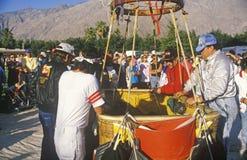 Гонка воздушного шара гелия Гордона Bennett в Palm Springs, Калифорнии Стоковое Изображение
