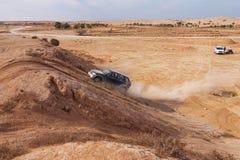 Гонка в пустыне, летний день дилетанта. стоковое фото