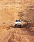 Гонка в пустыне, летний день дилетанта. стоковые изображения rf