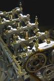 гонка двигателя автомобиля Стоковая Фотография