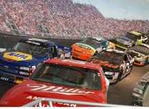 гонка залы славы автомобилей nascar Стоковое Изображение RF