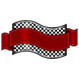 гонка значка Стоковая Фотография