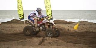 гонка квада motocross Стоковые Изображения RF