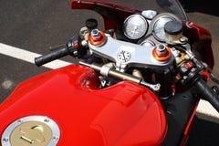 гонка мотоцикла Стоковое фото RF