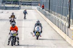Гонка мотоцикла Стоковое Изображение RF