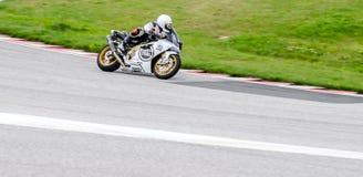 Гонка мотоцикла Стоковые Изображения RF