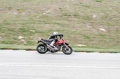 Гонка мотоцикла Стоковые Фото