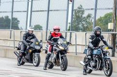 Гонка мотоцикла Стоковая Фотография
