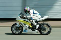 Гонка мотоцикла IRRC в Остенде Бельгии Стоковая Фотография RF