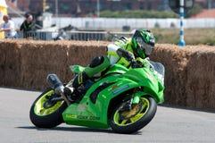 Гонка мотоцикла IRRC в Остенде Бельгии Стоковое Изображение
