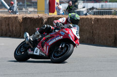 Гонка мотоцикла IRRC в Остенде Бельгии Стоковые Фотографии RF