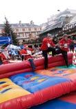 гонка пудинга рождества большая стоковое изображение rf
