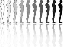 гонка разнообразности иллюстрация вектора