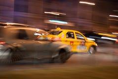 Гонка такси Стоковая Фотография RF