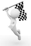 гонка флага Стоковые Фото