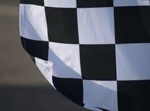 Гонка формулы 1 флага Стоковые Фото