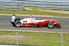 гонка формулы 3 автомобилей Стоковая Фотография