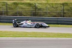 гонка формулы 3 автомобилей Стоковое фото RF