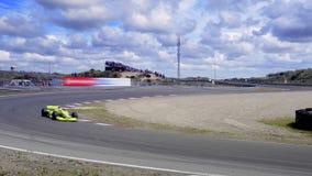 1 гонка формулы автомобиля сток-видео