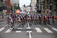 гонка цикла Стоковая Фотография